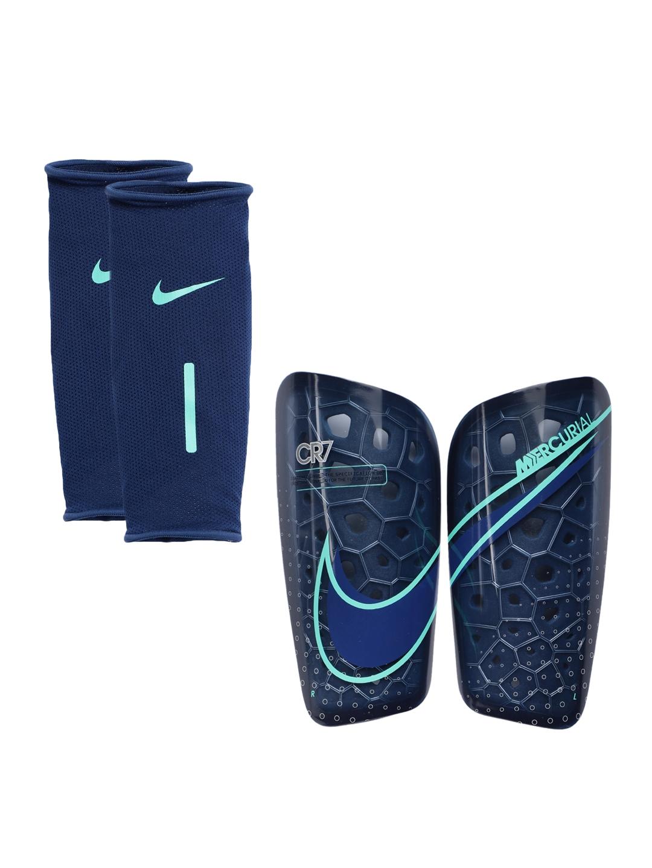 Nike Unisex Blue CR7 Mercurial Lite Football Shin Guards