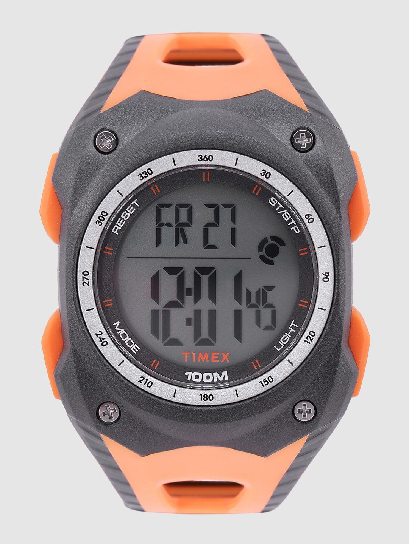 Timex Men Grey Digital Watch TWESK1004T