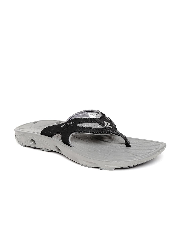 76d068378b79 Buy Columbia Men Black TECHSUN VENT Comfort Anti Slip Flip Flops ...
