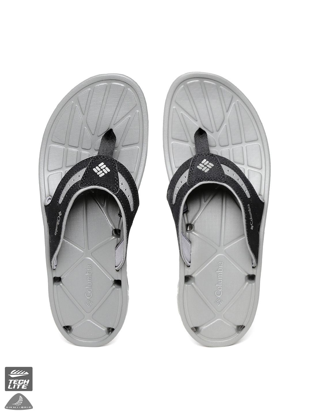 599f2795e14a Buy Columbia Men Black TECHSUN VENT Comfort Anti Slip Flip Flops ...