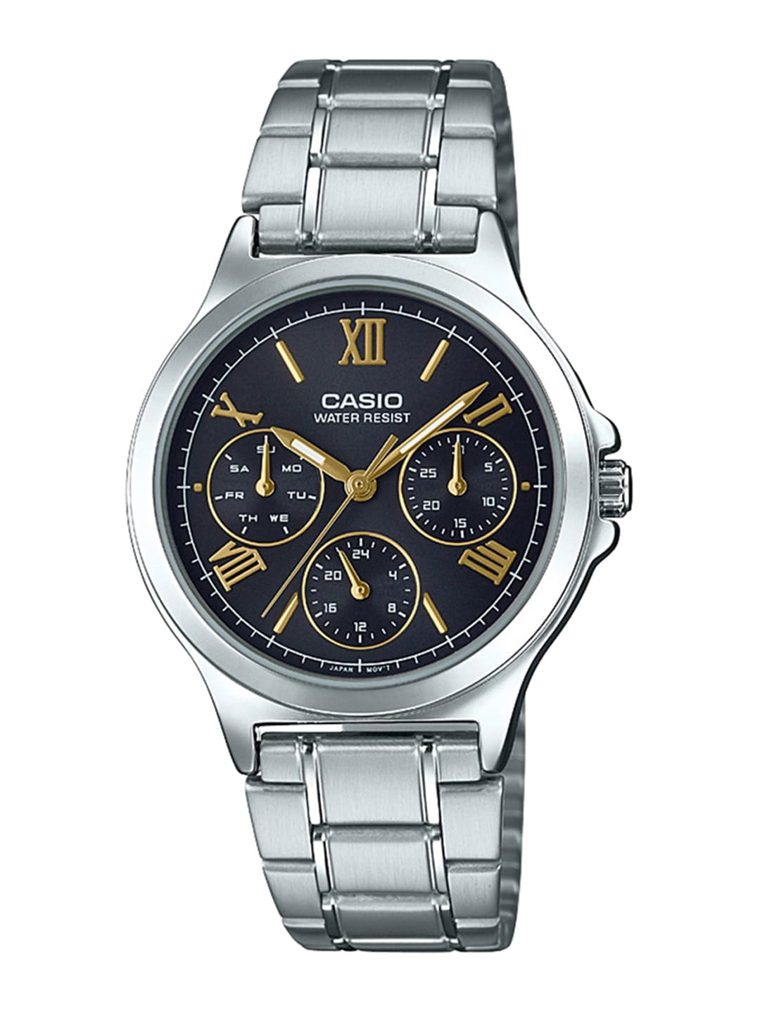 Casio Enticer Lady Women Black Analogue watch A1694