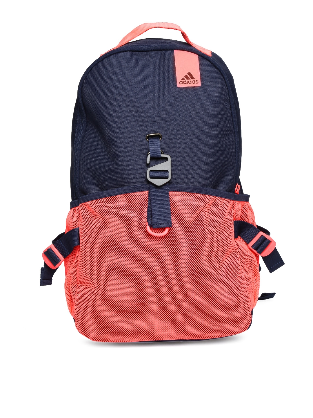 63c3a340fd Buy ADIDAS Women Navy   Neon Pink ST Backpack - Backpacks for Women 1072099