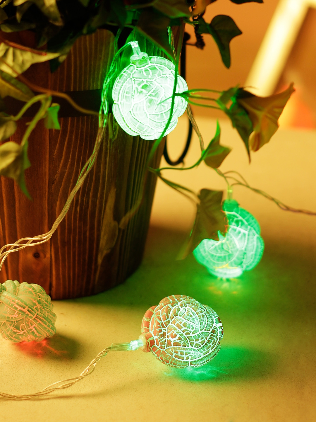 TAYHAA Set of 2 LED Multicoloured String Lights