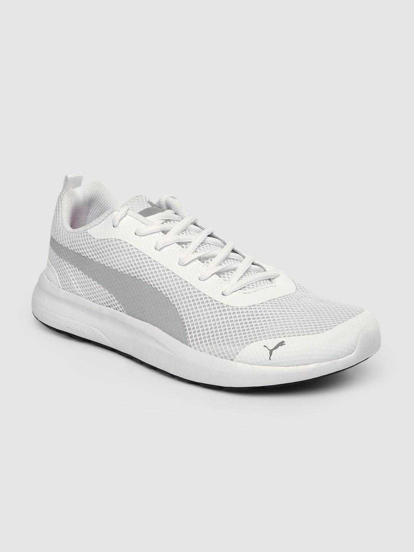Puma Men White Echelon V1 IDP Sneakers