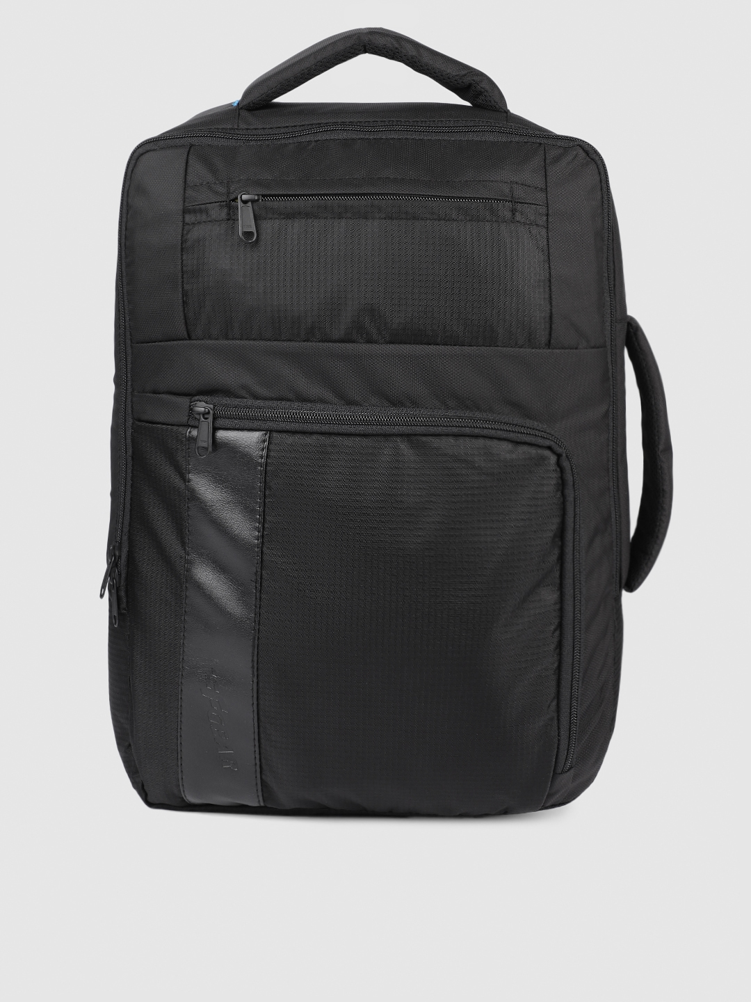 F Gear Unisex Black Solid Spartan Backpack