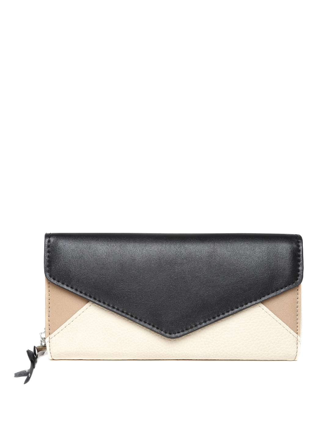 7422658ff Buy Parfois Women Black & Beige Wallet - Wallets for Women 1082986 | Myntra