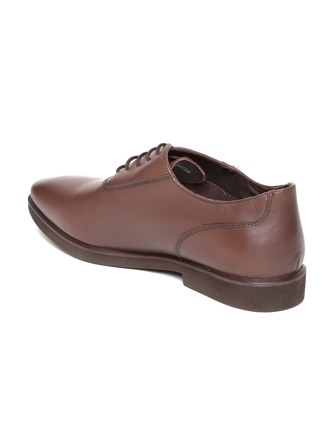 fd6829503b Buy Van Heusen Men Brown Leather Formal Shoes - Formal Shoes for Men ...
