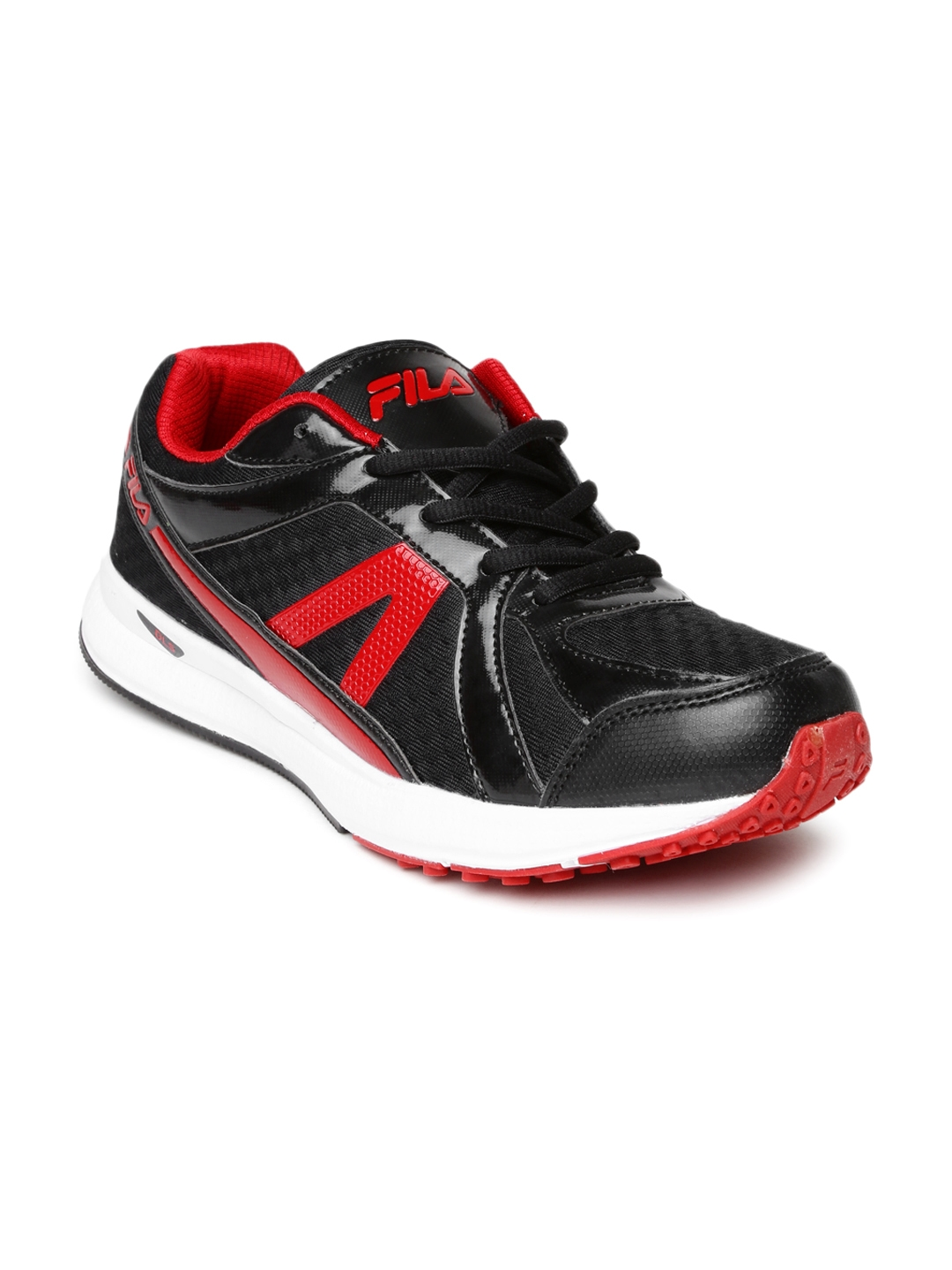 97dc639d5c5c Buy FILA Men Black   Red Element II Sports Shoes - Sports Shoes for ...