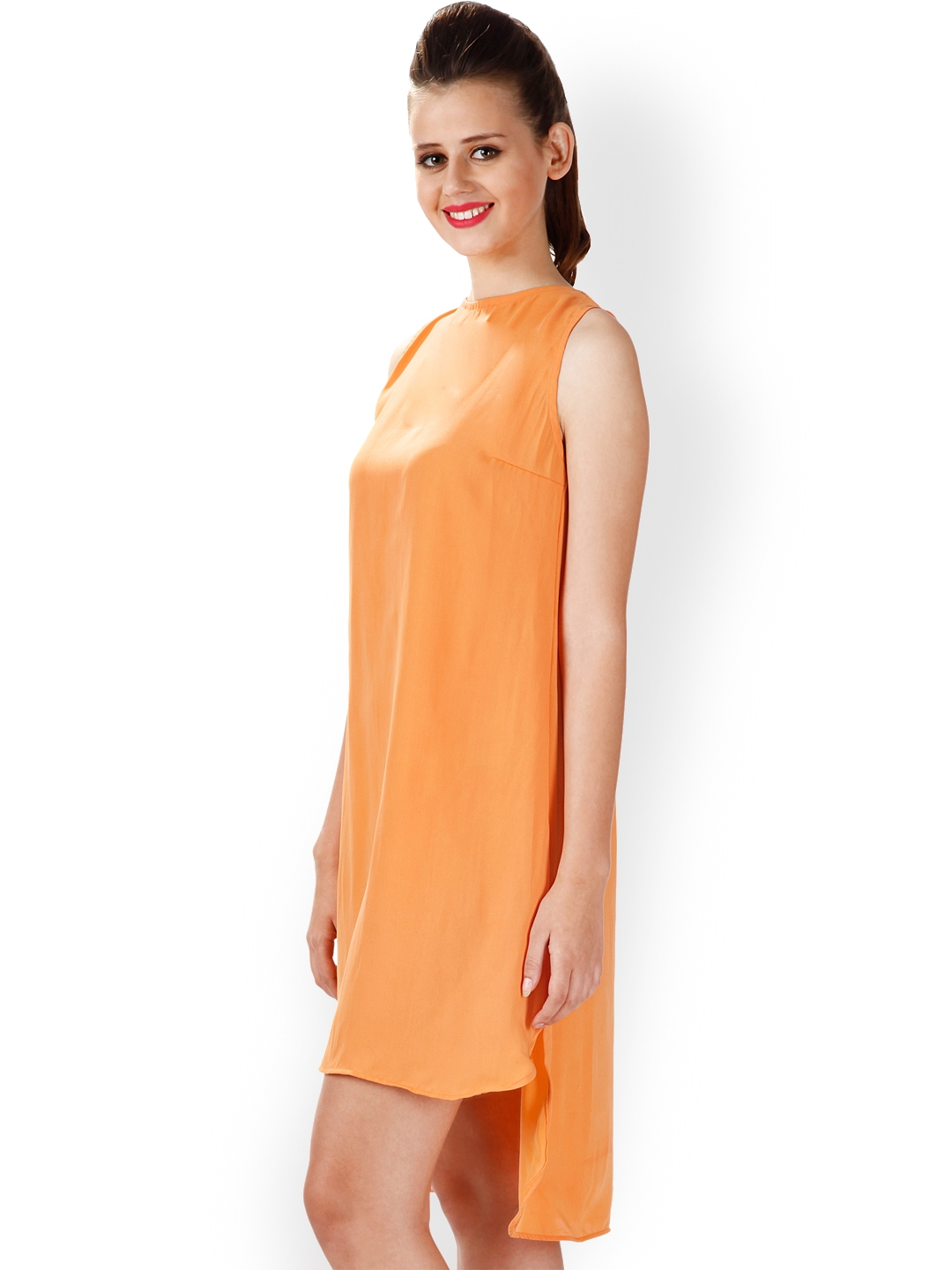 Buy Miss Chase Orange Shift Dress Dresses For Women 1091652 Myntra