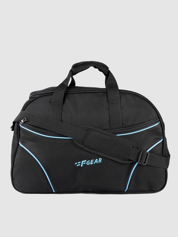 F Gear Black Maverick 45 Travel Duffel Bag
