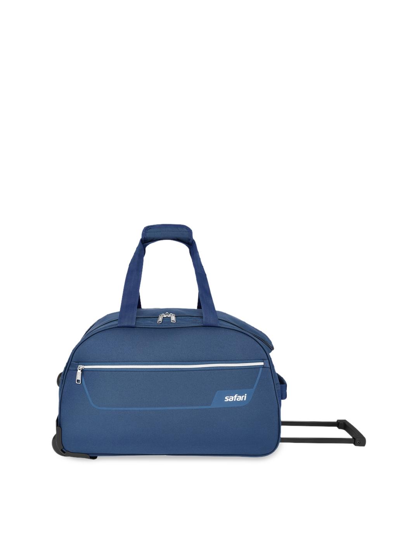 Safari Unisex Blue Cabin Trolley Duffle Bag
