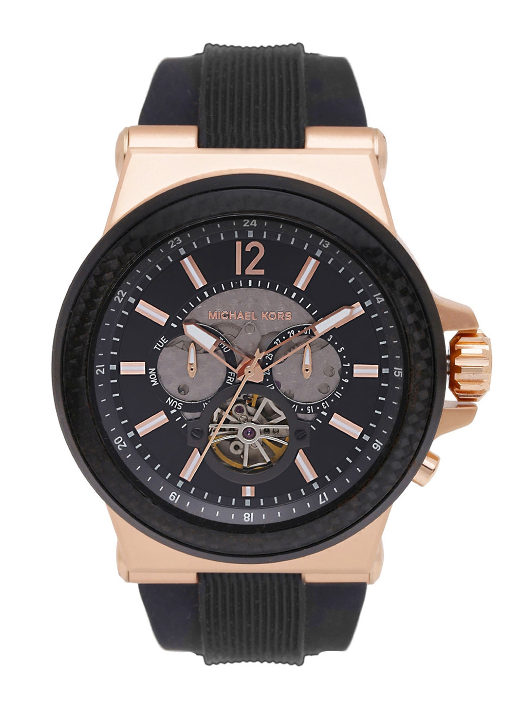bf0003b2fb60 Buy Michael Kors Men Black Dial Watch MK9019 - Watches for Men ...