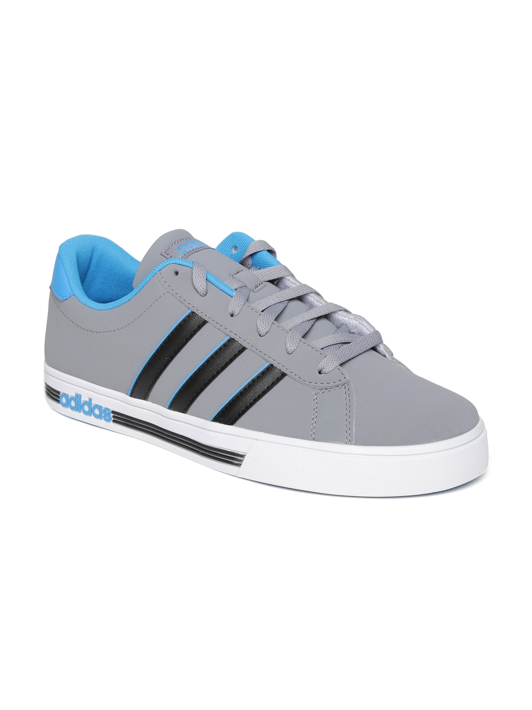 Buy ADIDAS NEO Men Grey Daily Team Sneakers - Casual Shoes for Men ... a17062862