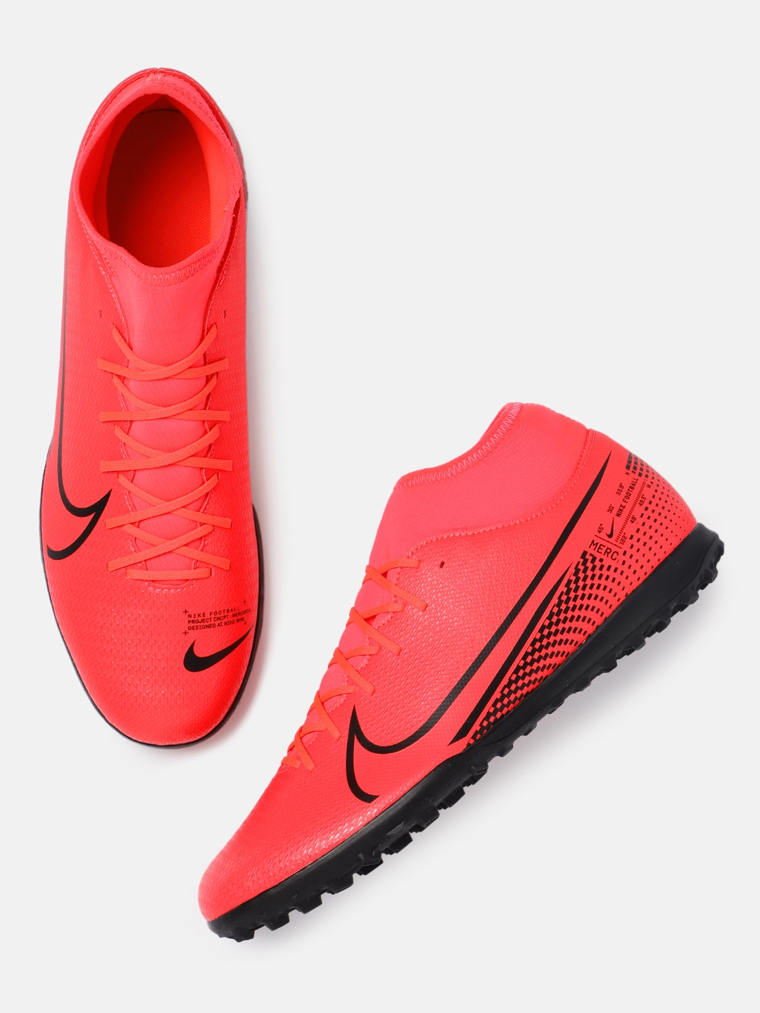 castillo Estado mecánico  Buy Nike Unisex Red SUPERFLY 7 CLUB TF Football Shoes - Sports Shoes for  Unisex 11045480 | Myntra