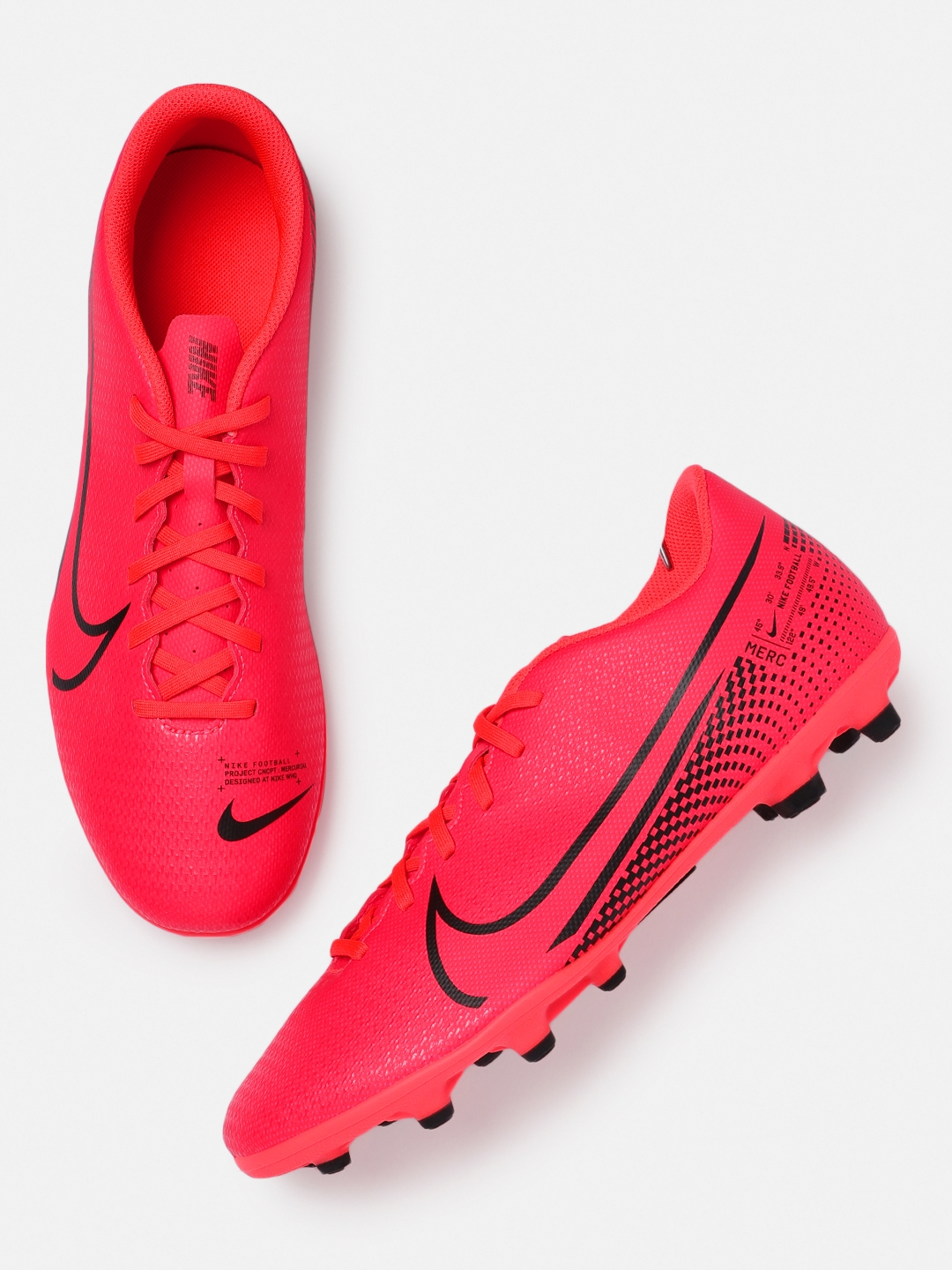 Nike Unisex Red VAPOR 13 CLUB FG Football Shoes
