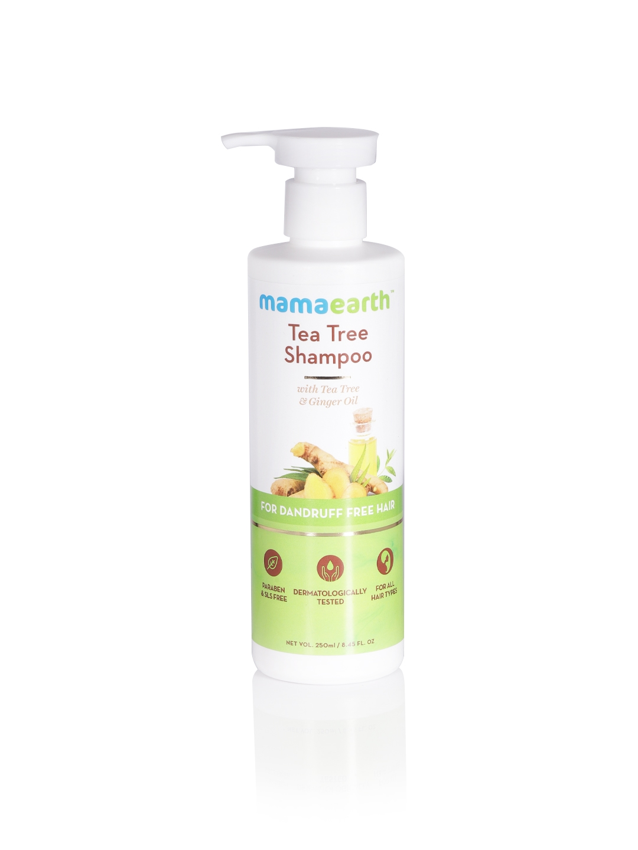 Mamaearth Sustainable Tea Tree Anti Dandruff Shampoo 250 ml