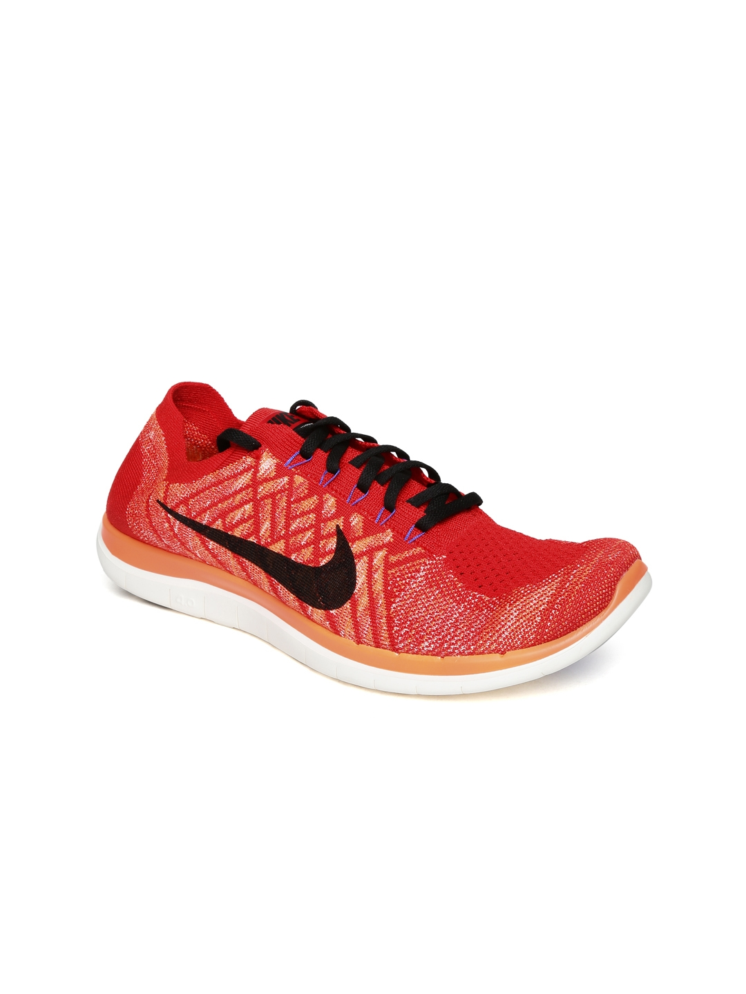 big sale 9dabe 30507 Buy Nike Men Red Free 4.0 Flyknit Running Shoes - Sports Shoes for Men  1109832   Myntra
