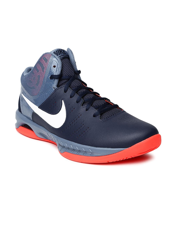 Nike Air Visi Pro Iv Navy Blue Basketball Shoes