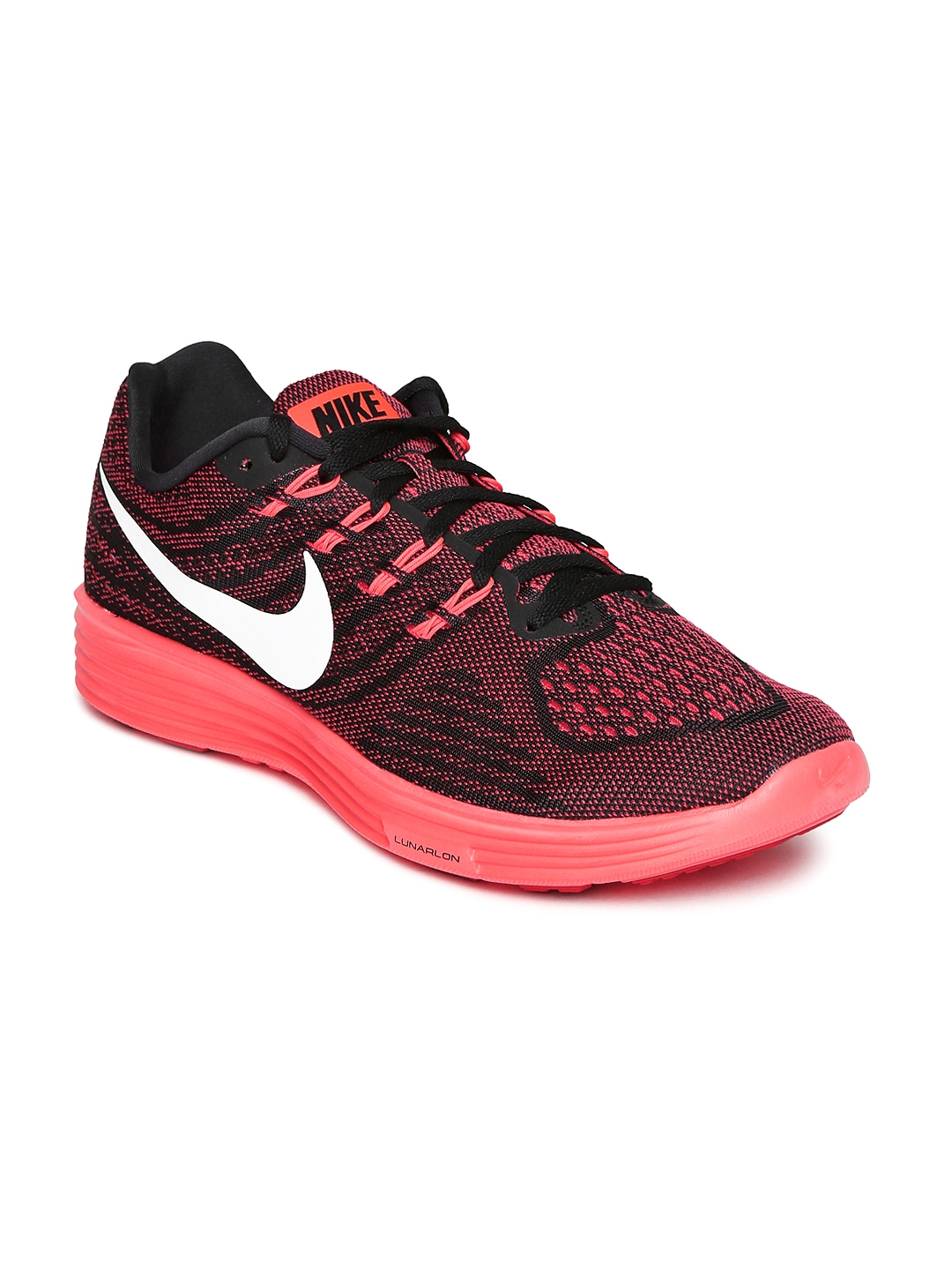 206903a87484 Buy Nike Men Pink   Black Lunartempo 2 Running Shoes - Sports Shoes ...