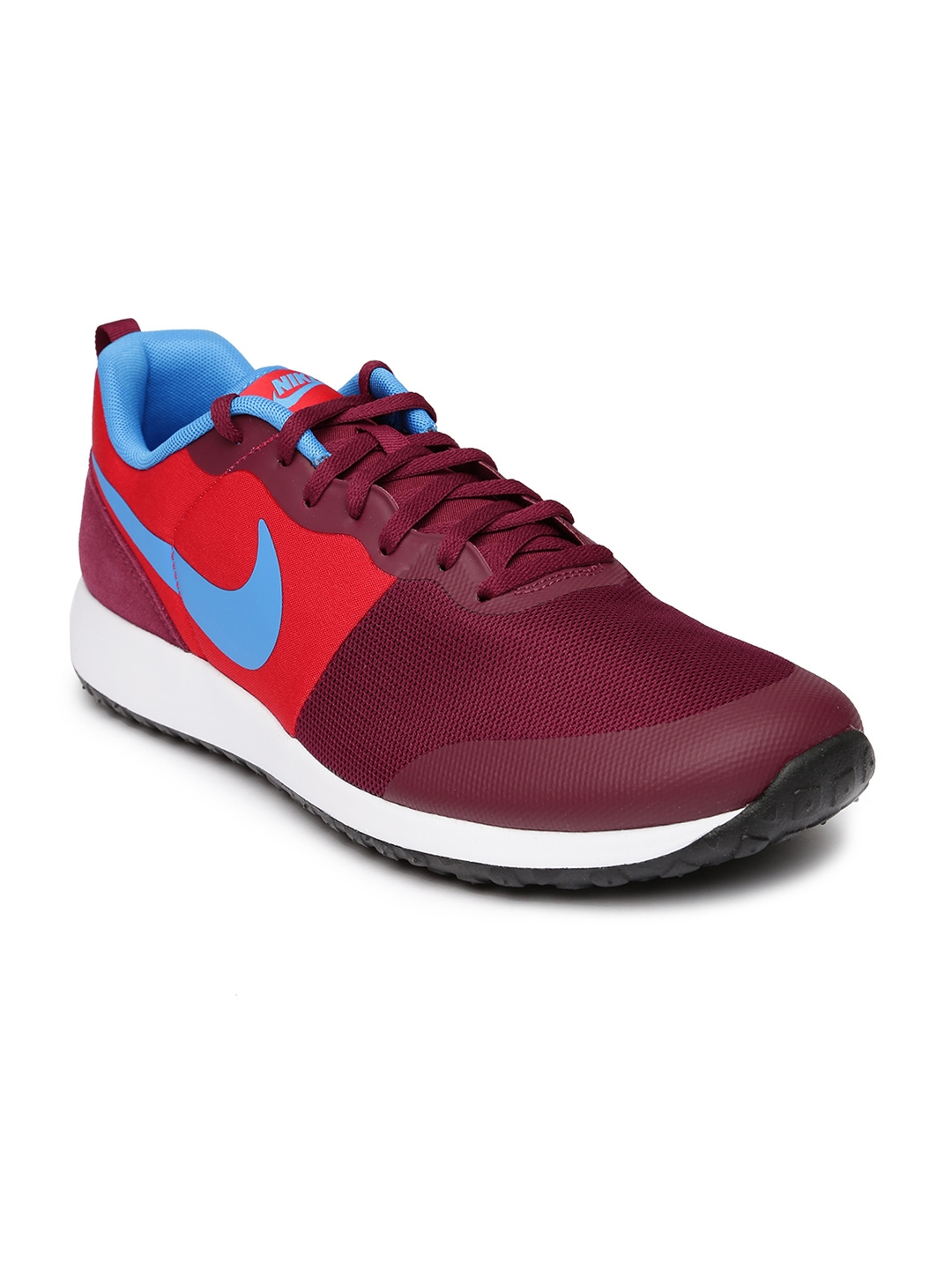 new style 3c2d4 e5d04 Nike Men Maroon   Red Elite Shinsen Casual Shoes
