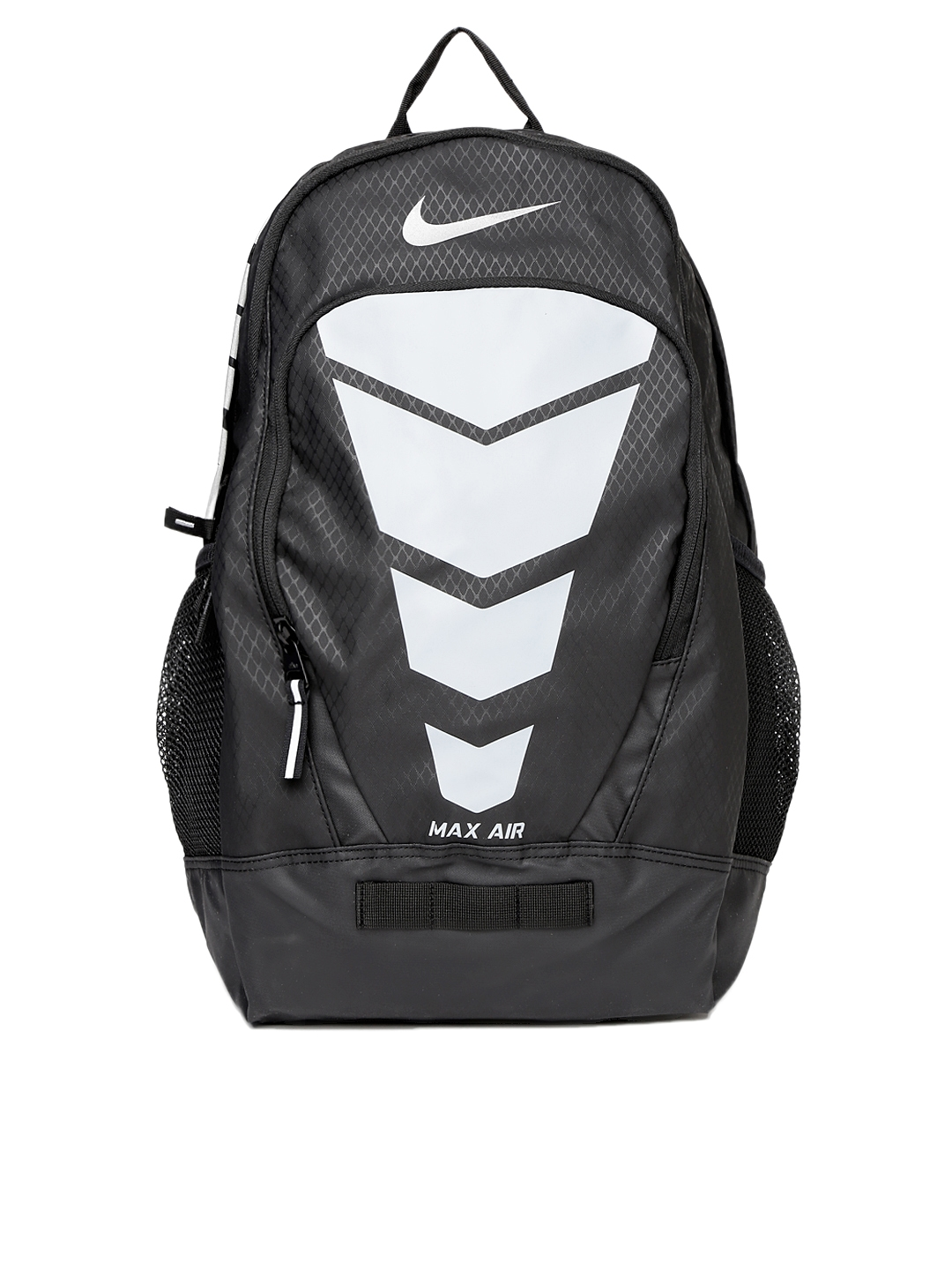 factory authentic b4670 3e2dc Buy Nike Unisex Black   Grey Max Air Vapor Backpack - Backpacks for Unisex  1110481   Myntra
