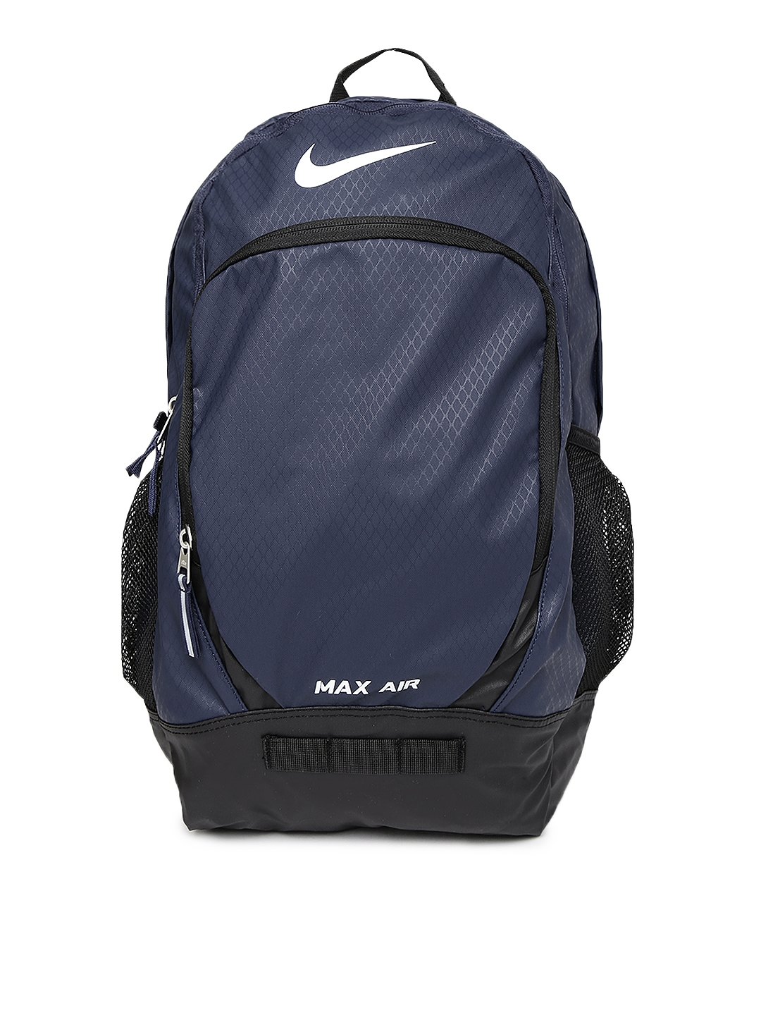 Buy Nike Unisex Navy   Black Team Training Max Air Backpack - Backpacks for Unisex  1110485  11402bbe1d7f8