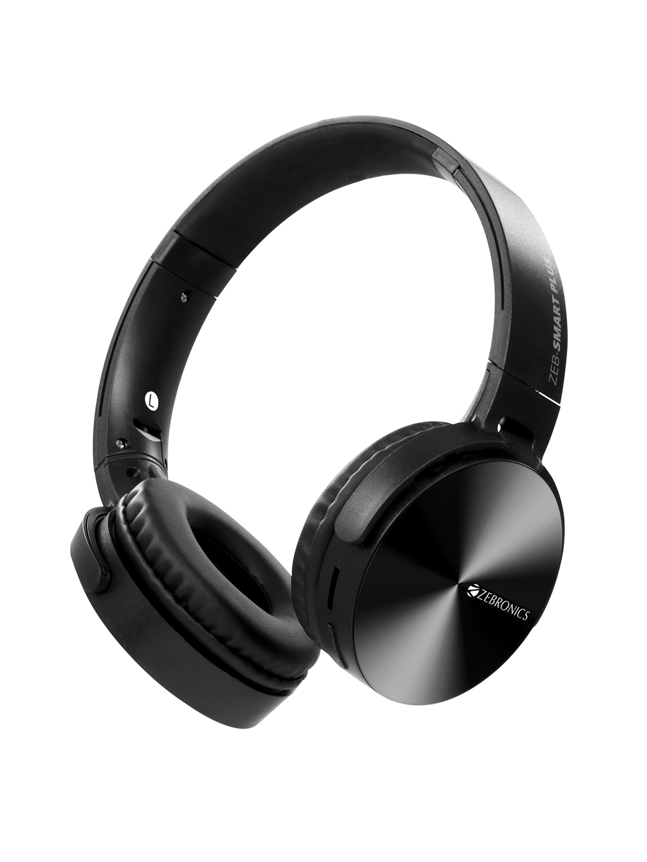 Zebronics Unisex Black Zeb Smart Plus Wireless Headphone