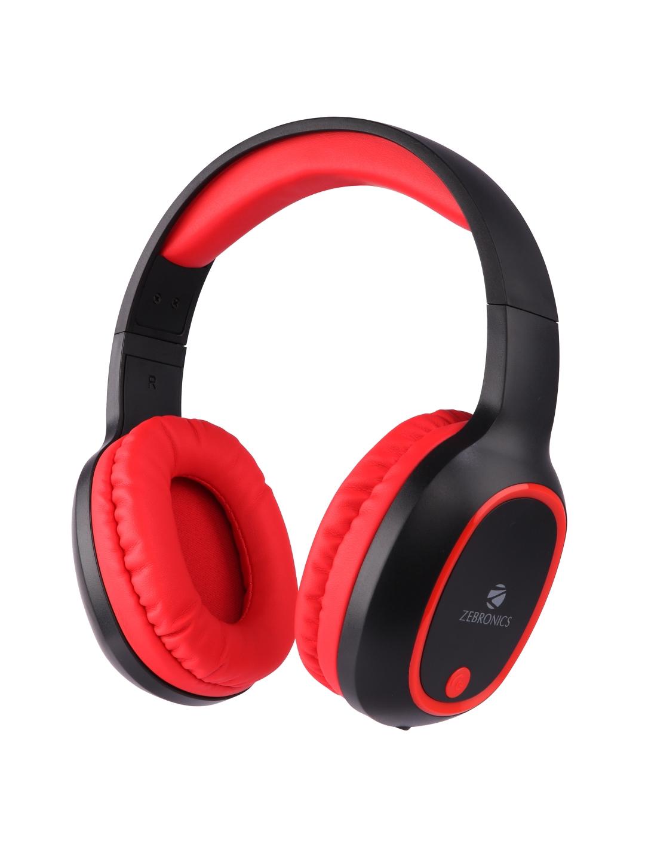 Zebronics Red Zeb Thunder Wireless BT Headphones
