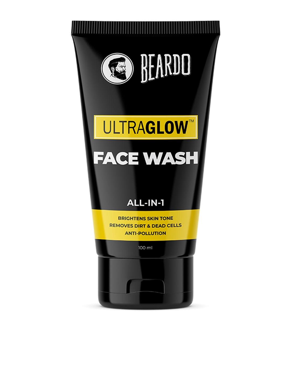 BEARDO Men Ultraglow All in 1 Face Wash   100 ml