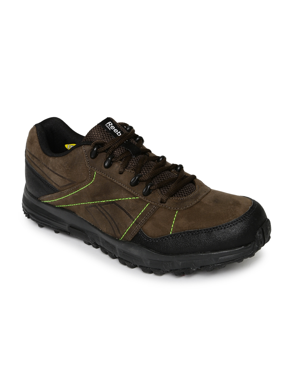 Buy Reebok Men Brown Adventure Cruiser TRL Leather Outdoor Shoes ... 8e2d24454