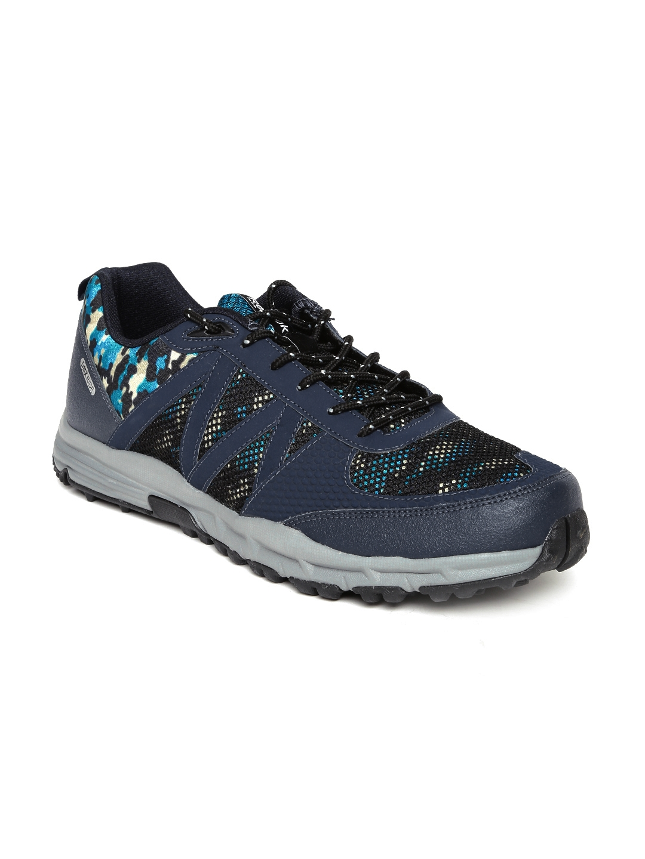 e8a40192aad65 Buy Reebok Men Navy Camo Trek Camouflage Print Hiking Shoes - Sports ...
