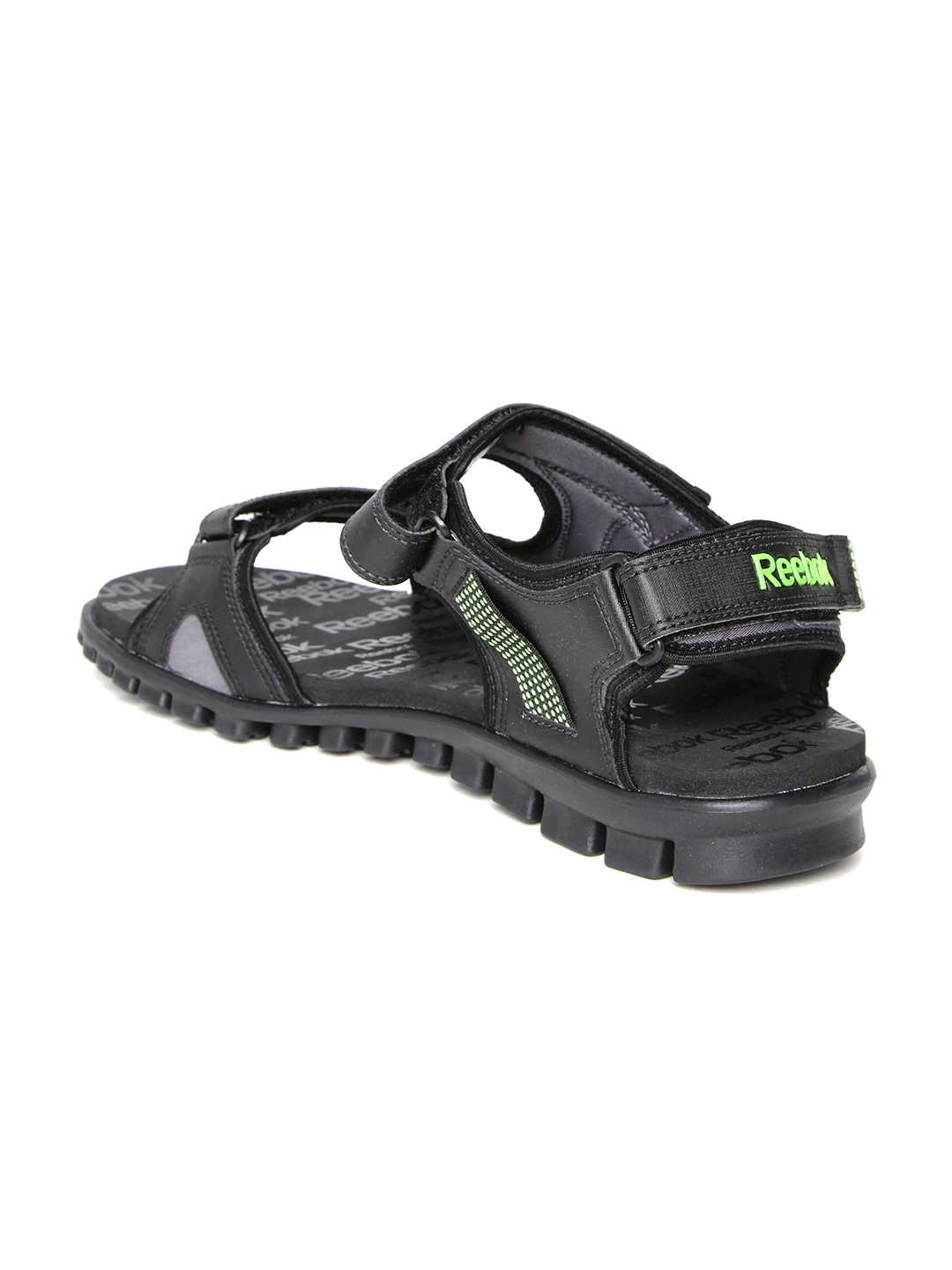 7674b6e703c6 Buy Reebok Men Black Reeflex Sports Sandals - Sports Sandals for Men ...
