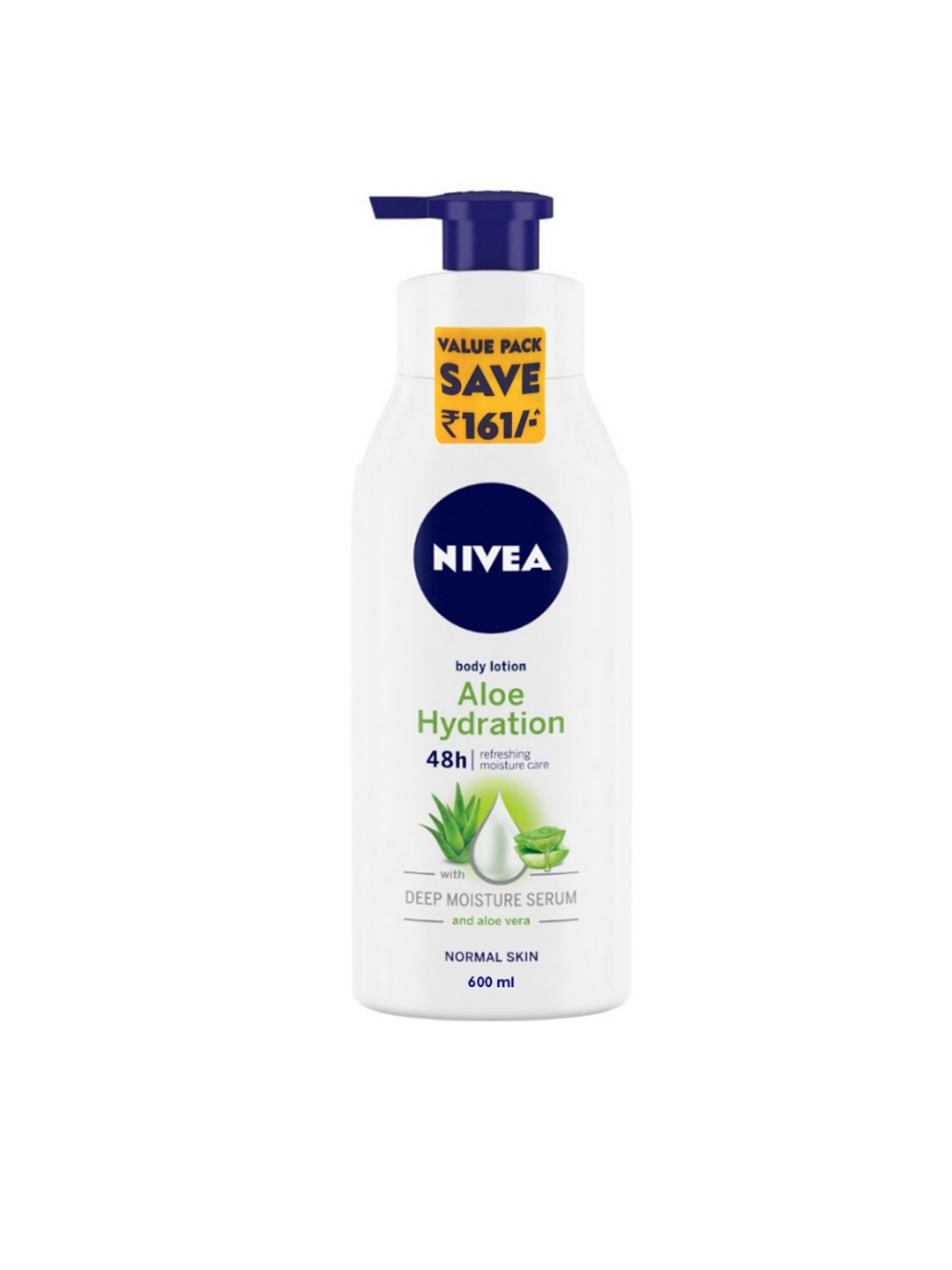 Nivea Aloe Hydration Body Lotion 600 ml