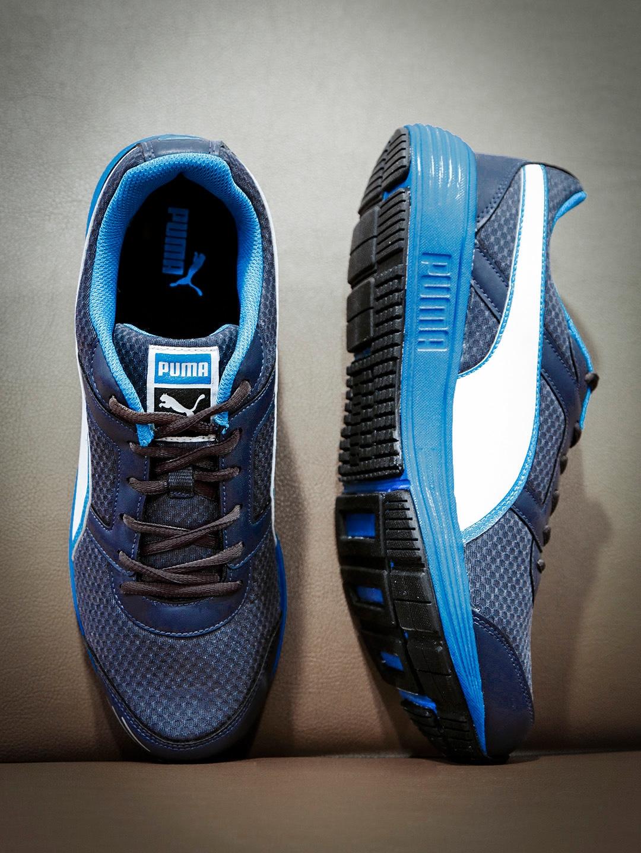 Buy PUMA Men Navy Harbour Fashion DP Running Shoes - Casual Shoes ... eaf9a59e3