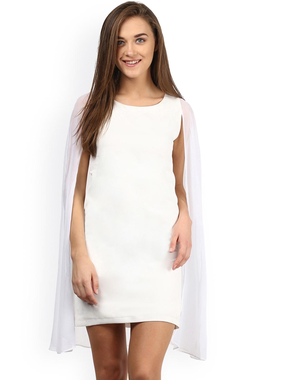Miss Chase White Shift Dress