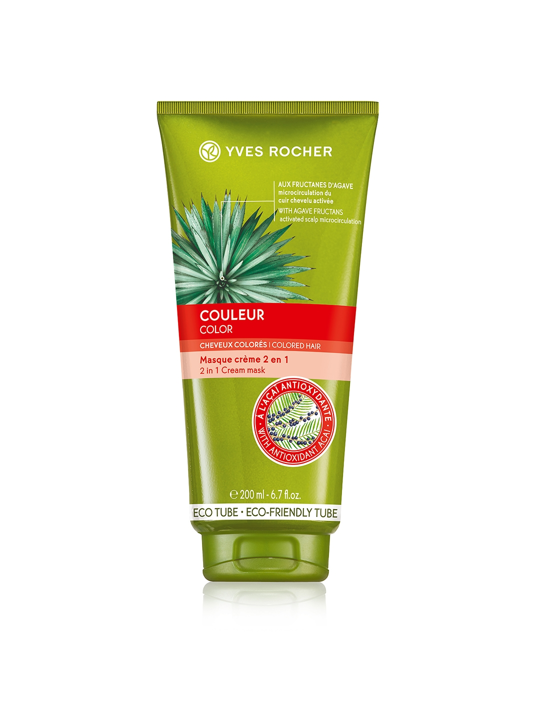 YVES ROCHER Colour 2 in 1 Sustainable Hair Cream Mask 200 ml