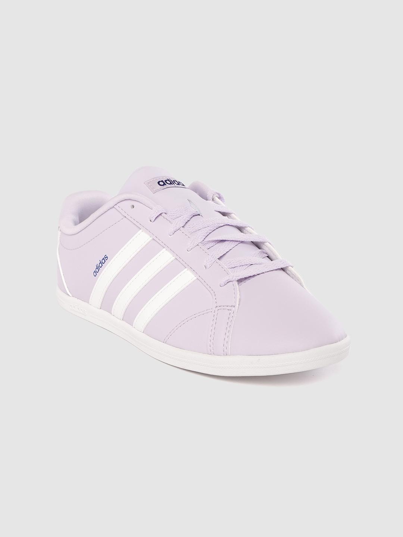 ADIDAS Women Lavender CONEO QT Sneakers