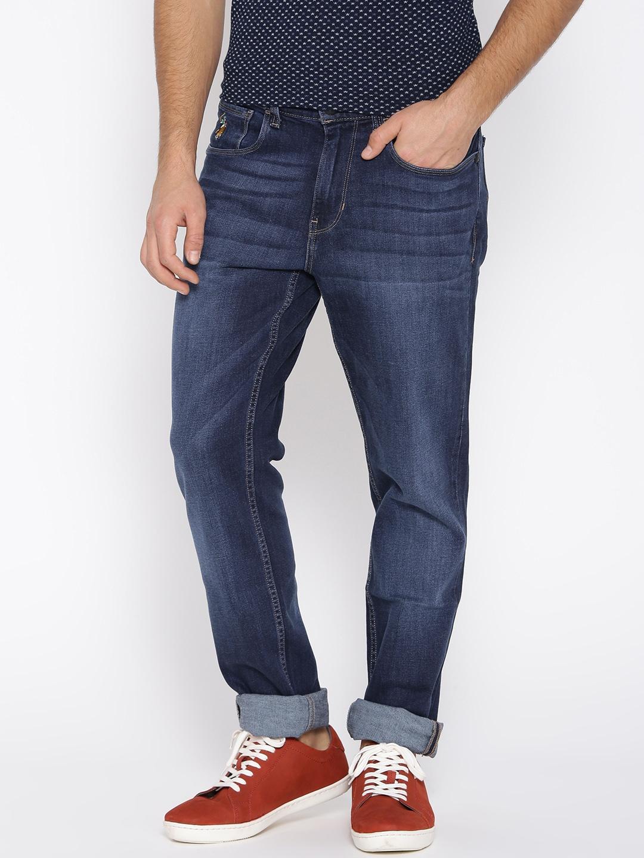 d0f1762ccc Buy U.S. Polo Assn. Denim Co. Dark Blue Tapered Slim Fit Jeans ...