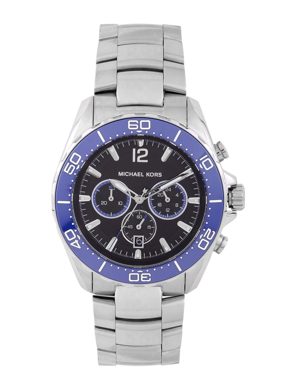 cc413a626849 Buy Michael Kors Men Chronograph Black Dial Watch MK8422I - Watches ...