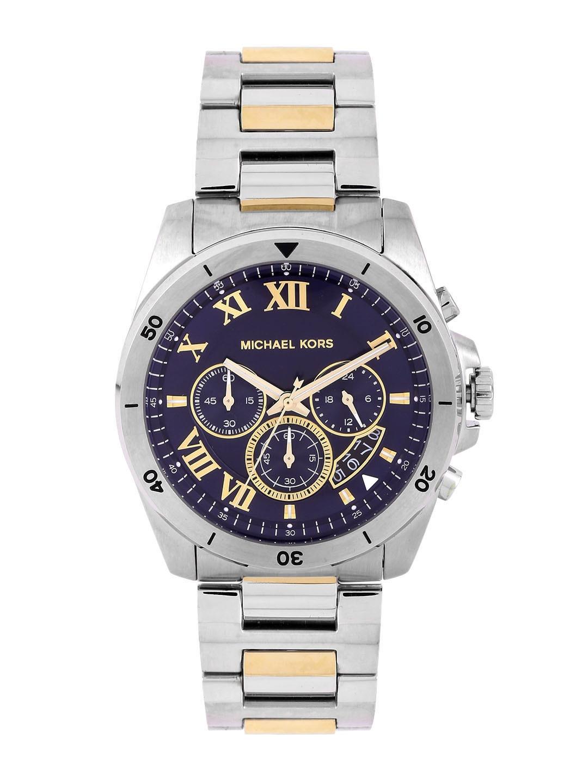 16ab9714b45d Buy Michael Kors Men Blue Chronograph Dial Watch MK8437I - Watches ...
