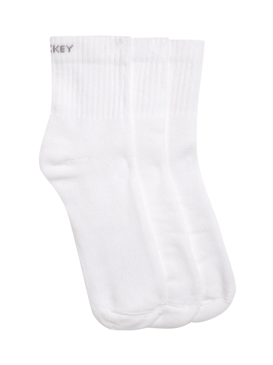 Jockey Men Pack of 3 White Solid Ankle Length Socks