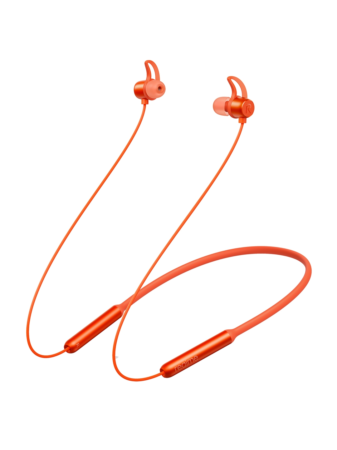 realme Orange Buds Wireless in Ear Bluetooth with mic