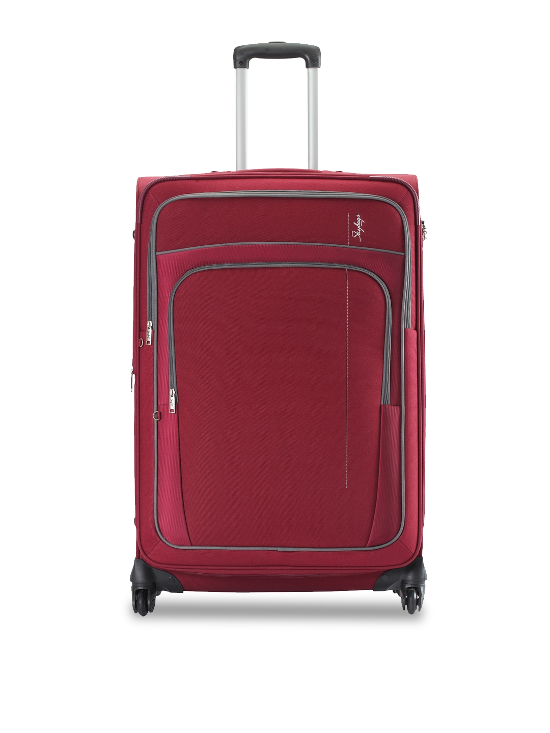 Skybags GRAND 4W EXP STROLLY 55 Red Cabin Trolley Suitcase