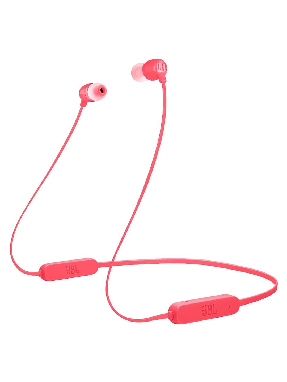 JBL Unisex Coral Red Tune 165 Bluetooth Wireless In Ear Headphones