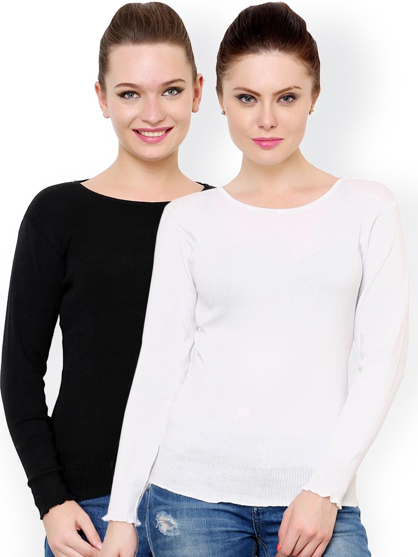 cff2e11393 Buy Renka Pack Of 2 Sweaters - Sweaters for Women 1158276