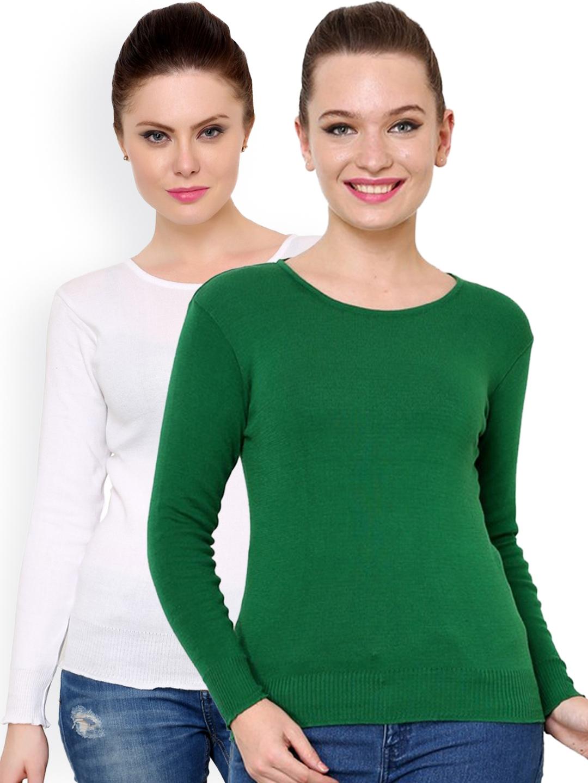 7071baceb5 Buy Renka Pack Of 2 Sweaters - Sweaters for Women 1158293