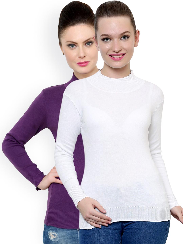cd9b8092bd Buy Renka Pack Of 2 Sweaters - Sweaters for Women 1158321