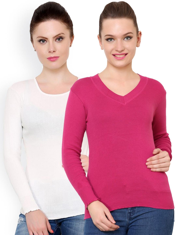 24ed04820f Buy Renka Pack Of 2 Sweaters - Sweaters for Women 1158354