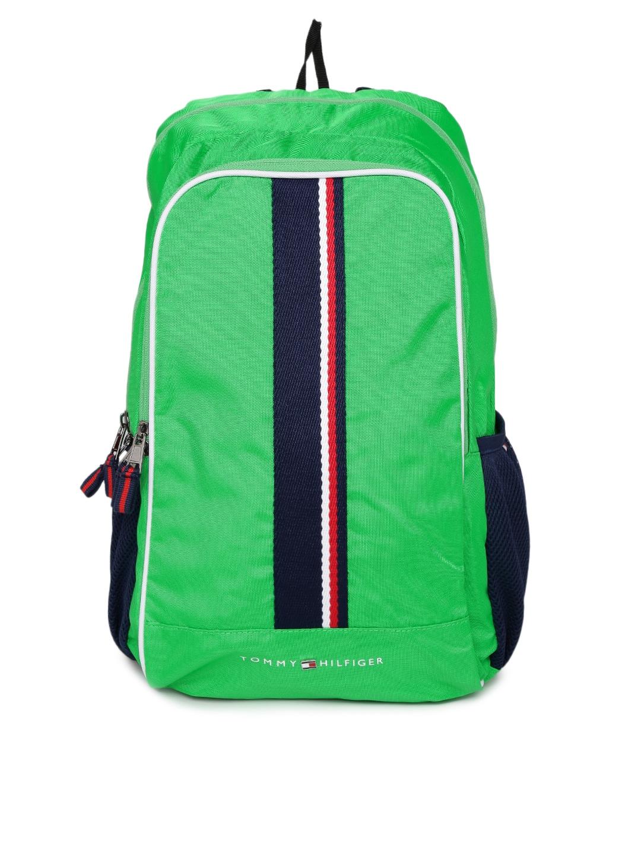 Tommy Hilfiger Unisex Green Backpack Tommy Hilfiger Backpacks