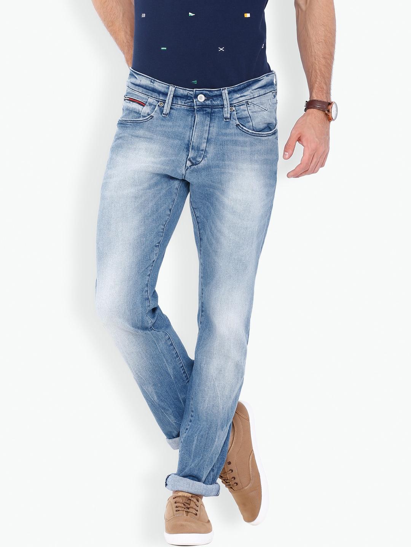 8d3f3831775a4c Buy Tommy Hilfiger Blue Scanton Slim Fit Jeans - Jeans for Men ...